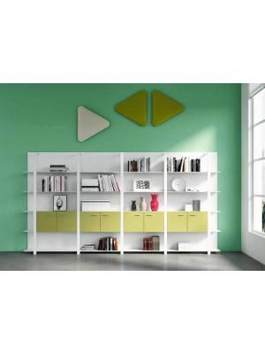 Modüler Modern Dolaplı Raflı Ev Ofis Kitaplık Kütüphane