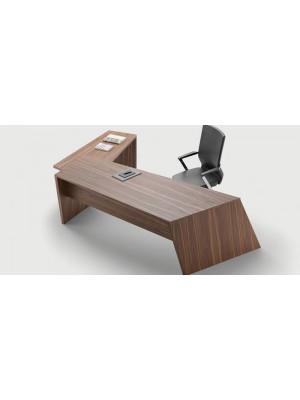 L Etajerli Modern Ofis Çalışma Masası