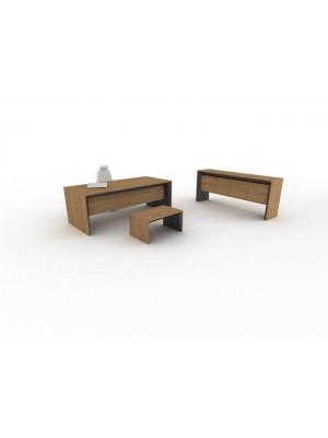 Modern Ahşap Makam Masası Sehpası Konsolu Takımı - Makam Takımları