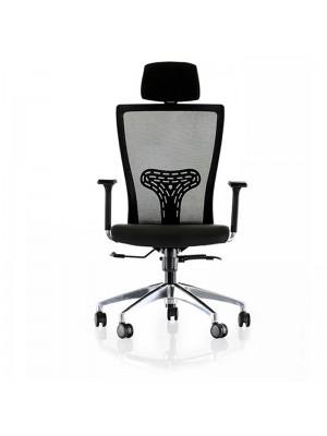 Krom Yıldız Ayaklı Yönetici Sandalyesi